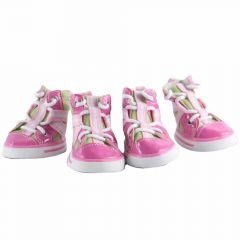 Sweet Pink dog shoes