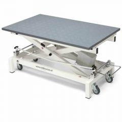 electrically height-adjustable grooming table Stabilo Compact 60 x 100 with wheels