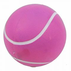 Dog ball made of rubber pink