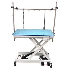 Illuminator grooming table with plenty of accessories