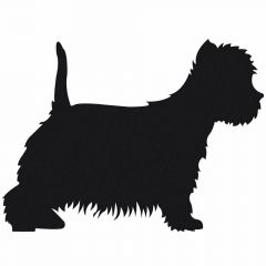 Dog Sticker Westie - West Highland White Terrier