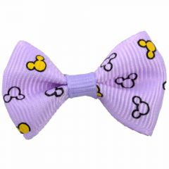 Mickey Mouse Hairbow purple by GogiPet
