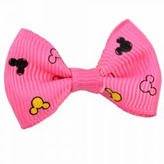 Mickey Mouse Hairbow dark pink by GogiPet