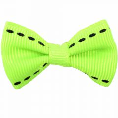 "Handmade dog bow ""Adora green"" by GogiPet"