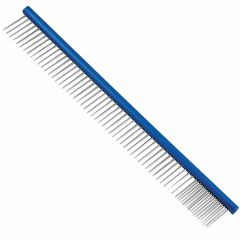 Dog comb made of stainless steel 30 cm