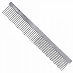 Vivog dog comb made of metal for dog grooming and cat care.