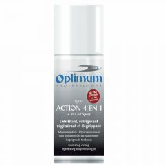 Optimum 4 in 1 spray cools, lubricates, cleans and disinfects
