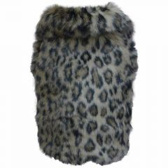 Art fur coat for dogs leopard of DoggyDolly W142