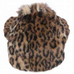 Short fur coat in the leopard look of DoggyDolly W145