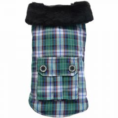 Warm dog ccoat by DoggyDolly BD 223 - dog coat for large dogs