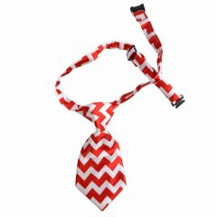 Tie for dogs red white by GogiPet