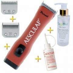 Aesculap Durati + 2 blades + Silk Care action