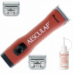 Aesculap pet clipper Durati offer with 2 blades