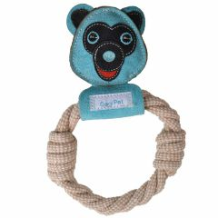 GogiPet ® Dog Toys - Blue Bear with dental care effect