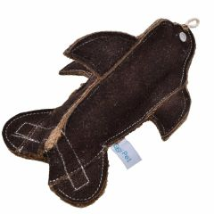Brauner Dolphin dog toy - GogiPet ® Dog toy made of sustainable raw materials