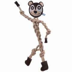 Dog toy from natural, sustainable raw materials from GogiPet ® Naturetoy Teddy Bear