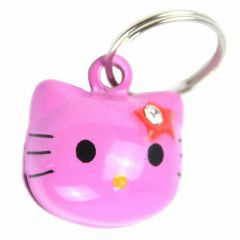 Pink cat bell of GogiPet cat