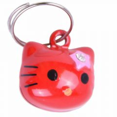 Little cat bell red cat 18 mm