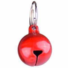 Red cat bell matte red with 14 mm