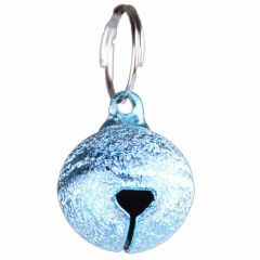 Cat bell silver blue
