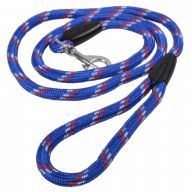 Very robust dog leash by GogiPet in blue