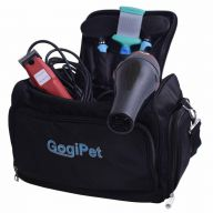 Professional dog groomer bag for ample accessories