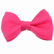 "Handmade dog bow ""Estela dark pink"" by GogiPet"