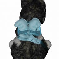 blue wing harness for small dogs of GogiPet ® Size S