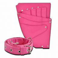 Pink Scissor holster for dog groomers and hairdressers
