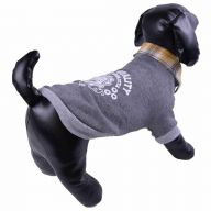 Warm sweater for dogs gray