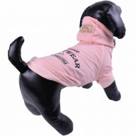 Pink Hoodie for Dogs - Warm Dog Clothing