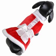 Beautiful Christmas dress for small dogs - Christmas fashions for dogs