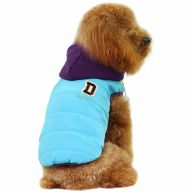Warmer Dog parka for the winter blue dog coat of GogiPet ®