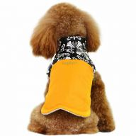 dog clothes for winter dog coat Nancy yellow