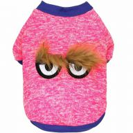 Warm dog sweater pink by GogiPet