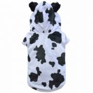 black mottled cow's coat for dogs - dog clothing of DoggyDolly DF023