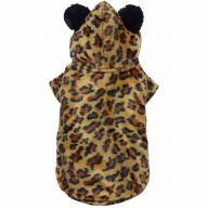 Leopard's costume for dogs-DoggyDolly DF037 - warm dog clothing