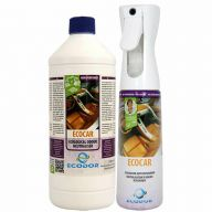 Ecodor EcoCar spray bottle and refilling against bad smells in vehicles