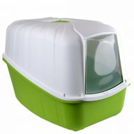Covered litter tray green