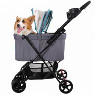Foldable pet stroller John