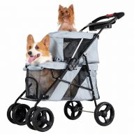Two-story stroller for dogs
