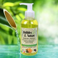 Bubbles & Nature healing dog shampoo