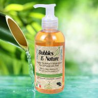 Black dog shampoo by Bubbles & Nature