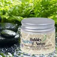 Paw care ointment and nose care ointment for dogs by Bubbles & Nature