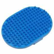 GogiPet rubber brush with durable X knobs