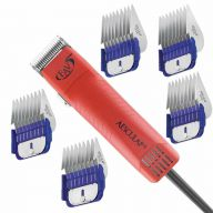 Aesculap pet clipper with 6 blades offer