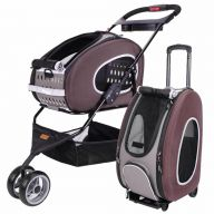 Dog buggy and dog trolley brown