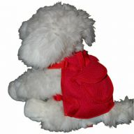 Red Harness for Dogs by GogiPet ® incl Dog Leash