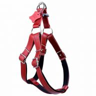 Dog harness made of genuine leather by GogiPet ®