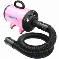 GogiPet dog dryer Poseidon pink with variable speed and heating